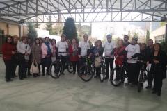 Kapila and bikes